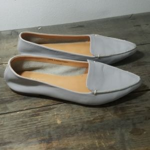 Leather J Crew loafers
